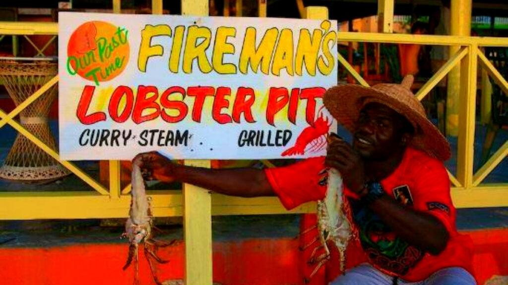 fireman's lobster pit jamaica