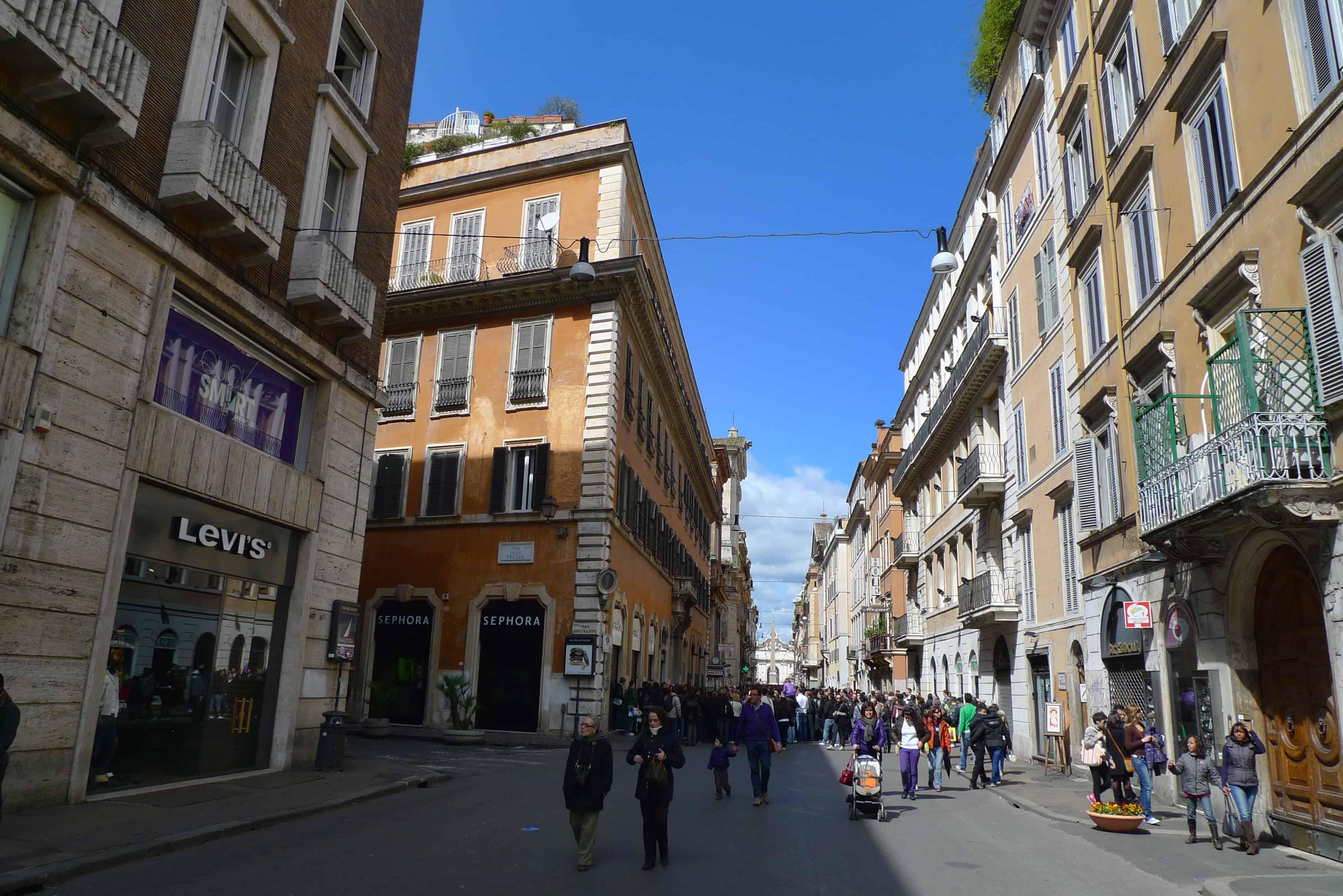 Rome Shops Rental Escapes