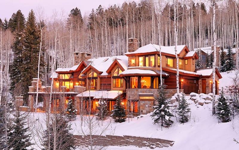 ski-in ski-out chalets