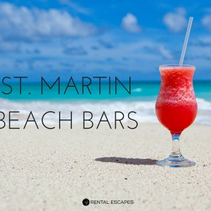 beach bars in st. martin
