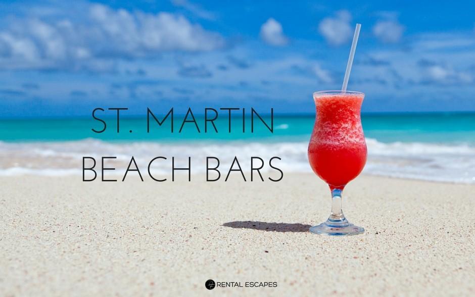 beach bars in st. martin