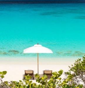 Renting a Villa in Turks - Villa Amanyara beachfront