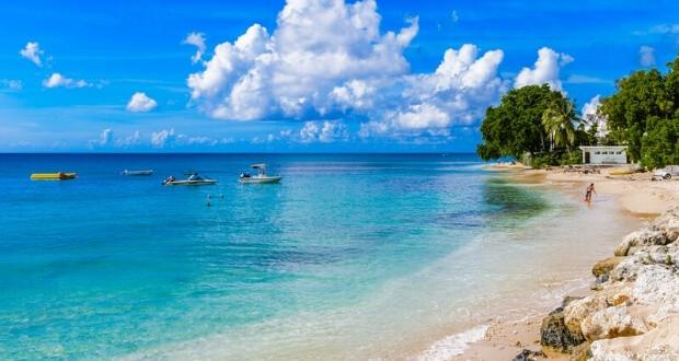 Barbados Beach view