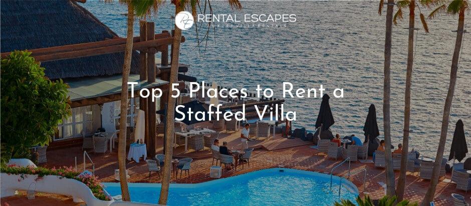 Beachfront Villa with pool