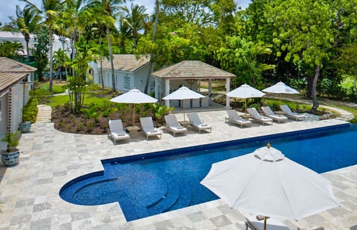 sandy lane villa rental Barbados holidays