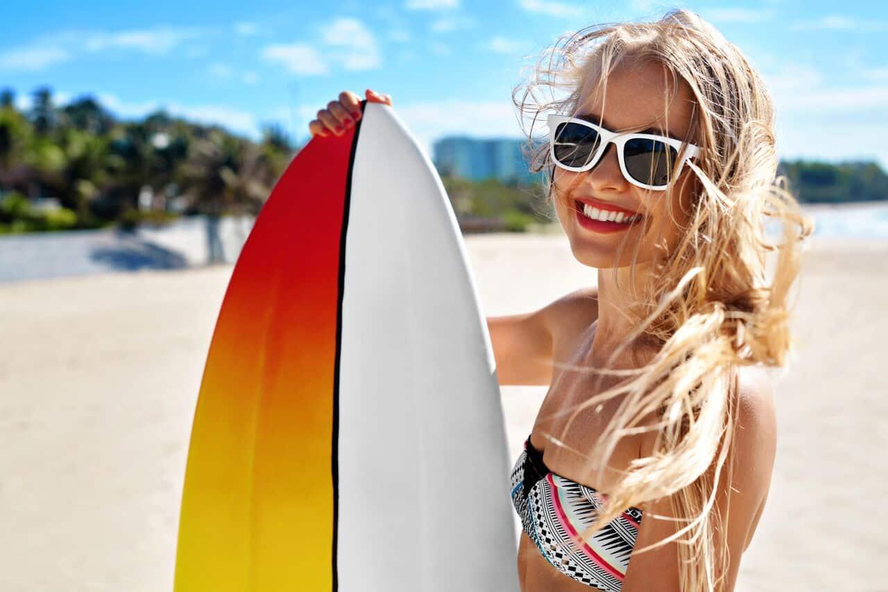 luxeFIT Barbados Surfing