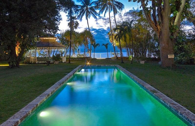 luxeFIT Barbados pool