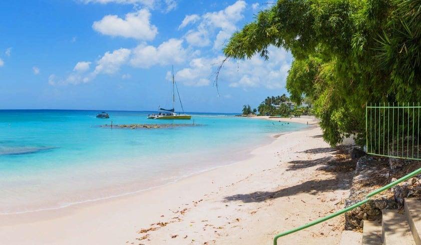 luxeFIT Barbados beach