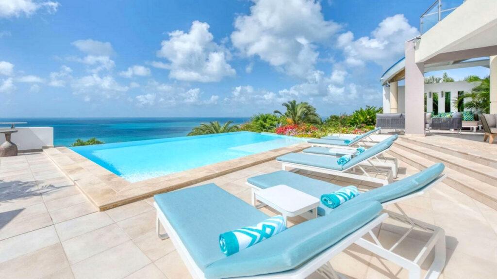 Ocean 5 villa near one of the best beaches in St Martin