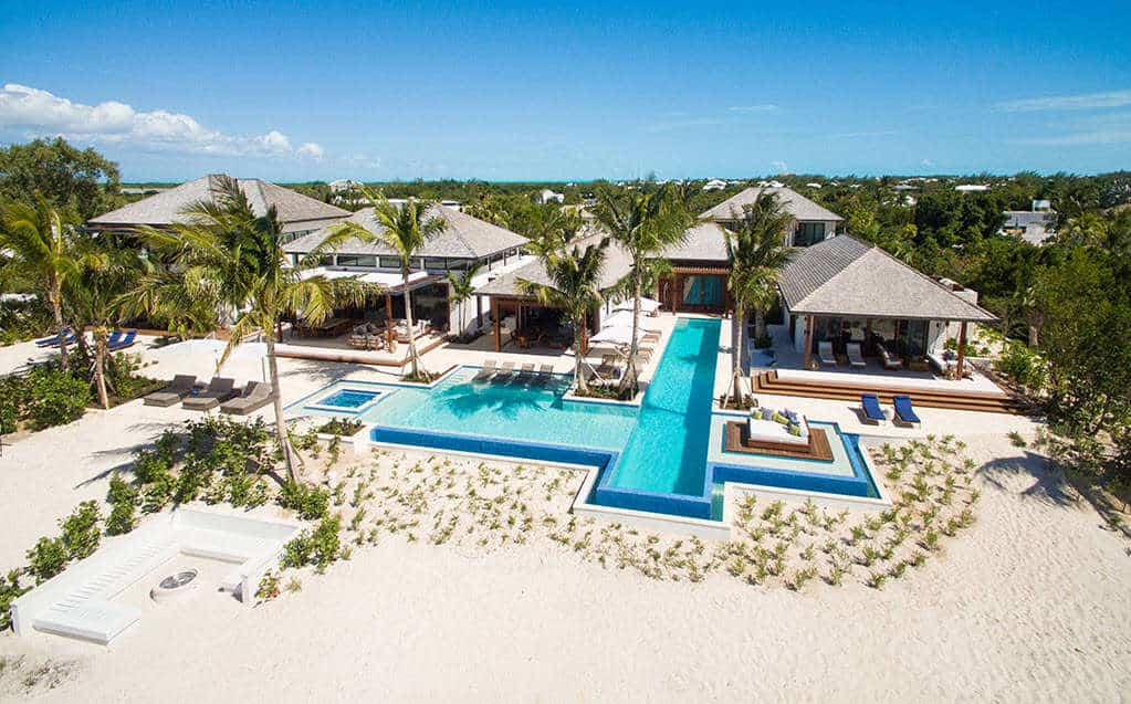 Luxury villa rentals Caribbean - Turks and caicos - Providenciales - Grace bay - Hawksbill