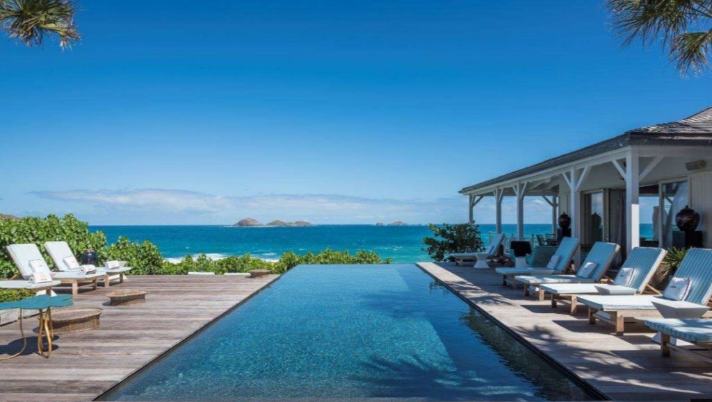 top 10 beachfront Caribbean villas st barts