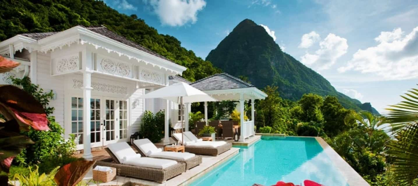 Top 10 beachfront Caribbean villas St Lucia