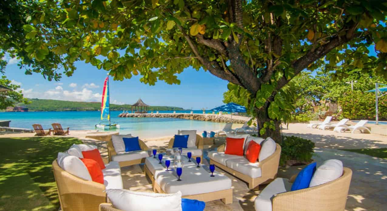 top 10 beachfront Caribbean villas Jamaica