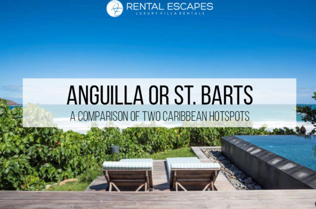 Anguilla or st. barts comparison st vbarts
