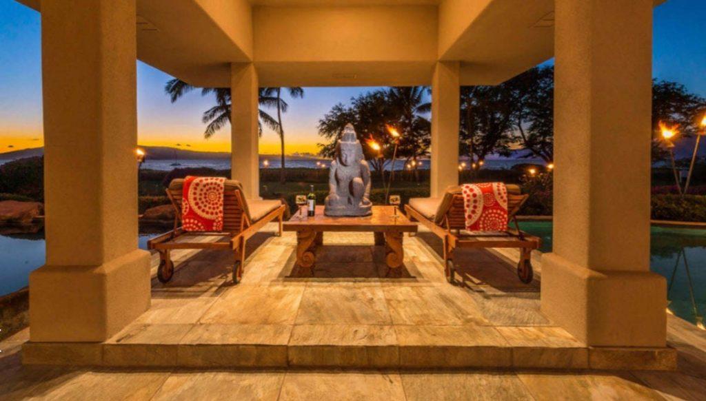 Hawaiian luxury villa rentals ka'anapali