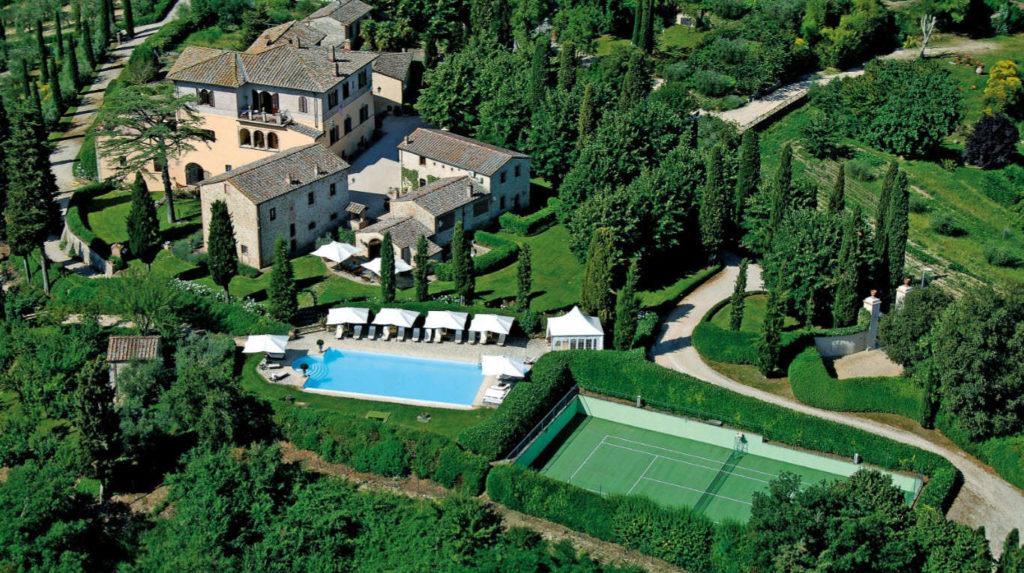luxury villa rentals in Tuscany