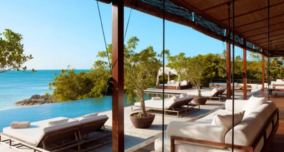 luxury vacation rentals in turks and caicos parrot cay