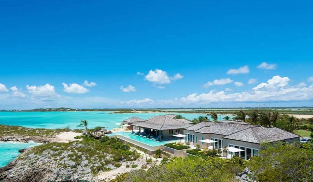 luxury vacation rentals in Turks and Caicos Turtle Tail