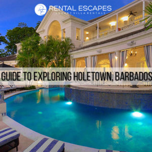 Exploring Holetown, Barbados