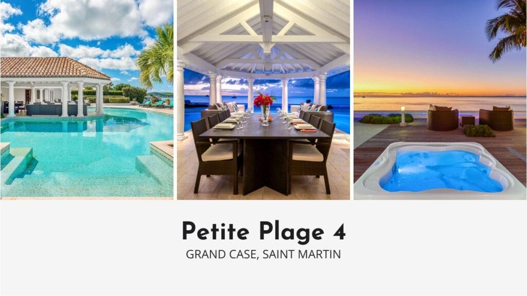 Petite Plage 4 Luxury Villa in Saint Martin