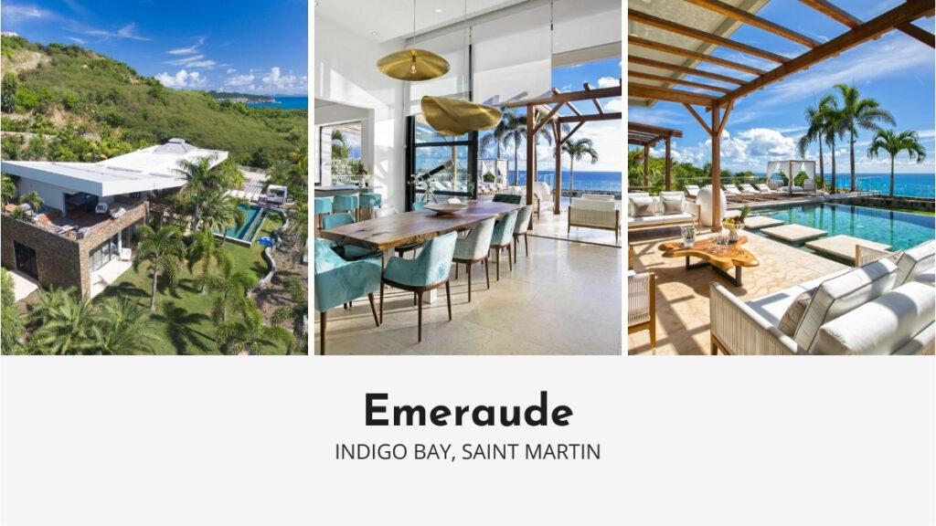 Emeraude Luxury Villa in Saint Martin