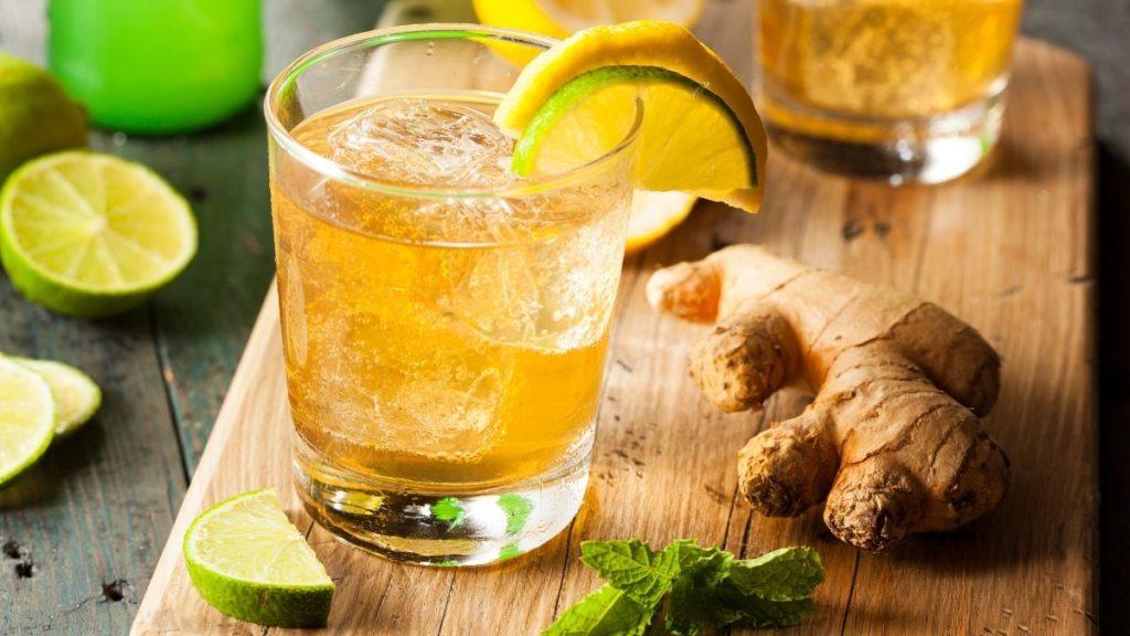 Simple Barbados Buck Cocktail