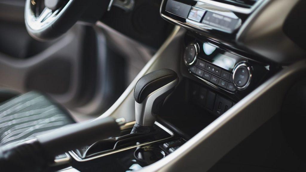 Interior of Luxury Vehicle