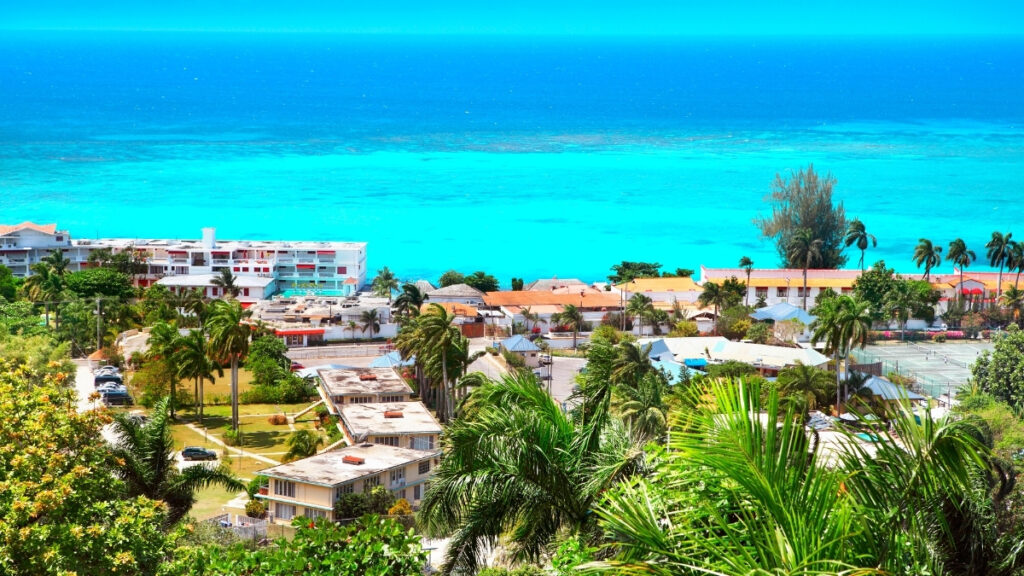Montego Bay View in Jamaica