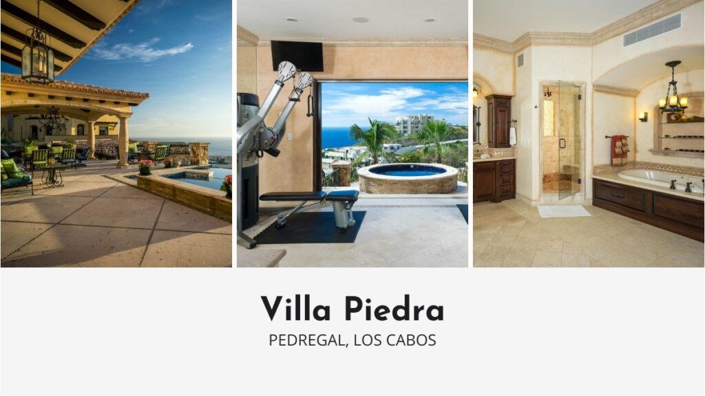 Villa Piedra in Los Cabos with Private Gym