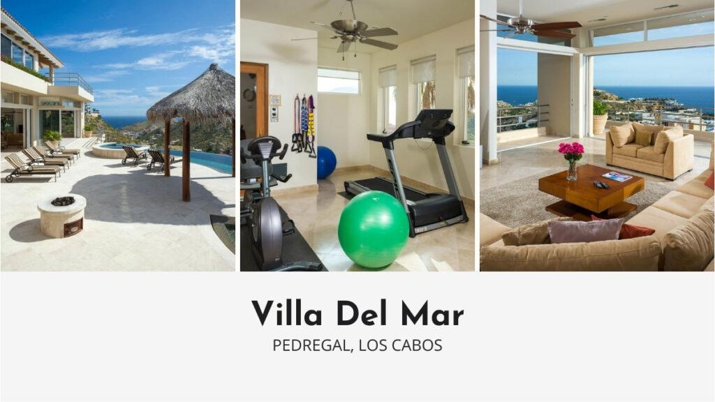Villa Del Mar in Los Cabos with Private Gym