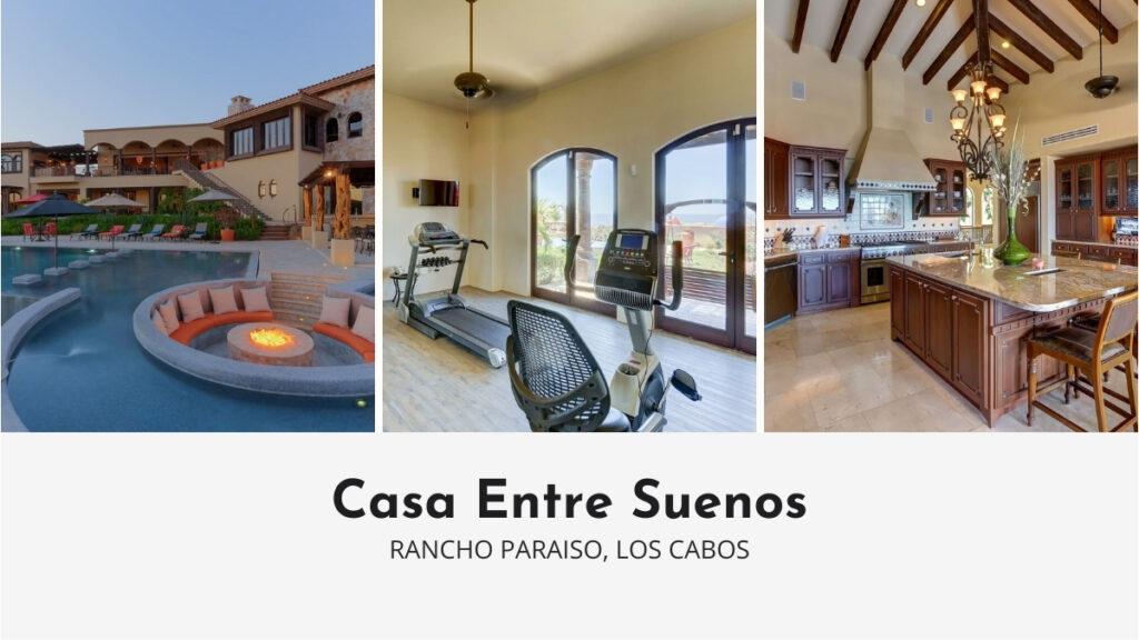 Casa Entre Suenos in Los Cabos with Private Gym