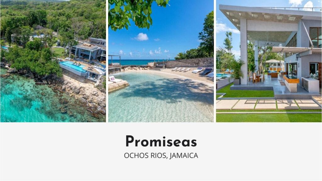Promiseas in Jamaica with private beach