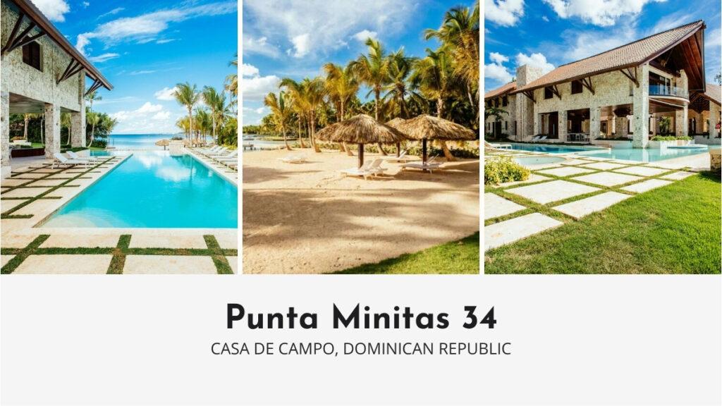Punta Minitas 34 luxury villa with private beach