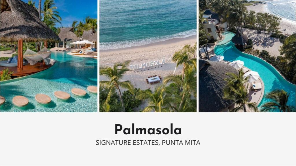 Palmasola luxury villa in Mexico with a private beach