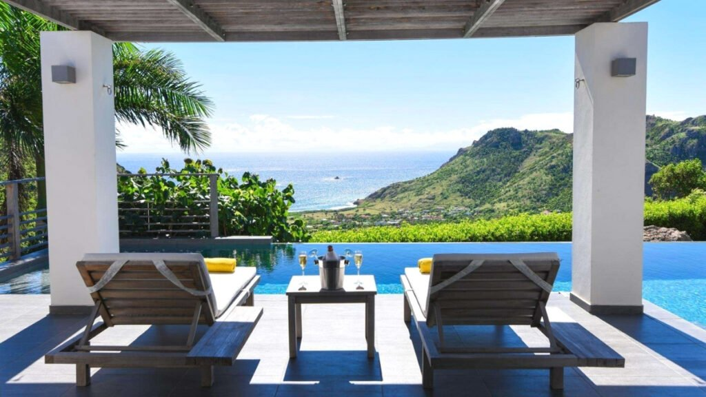 Valley Villa in St barts perfect for honeymoon