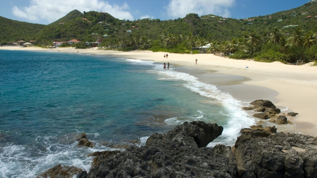 Flamands Beach in St Barts - Caribbean