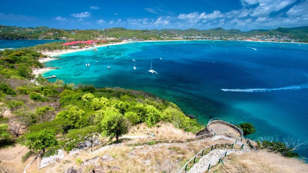 Grand Anse Beach in St Lucia - Caribbean