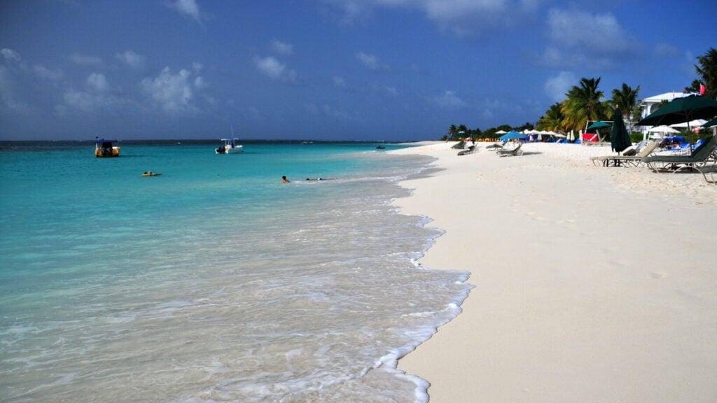 Shoal Bay Beach Caribbean