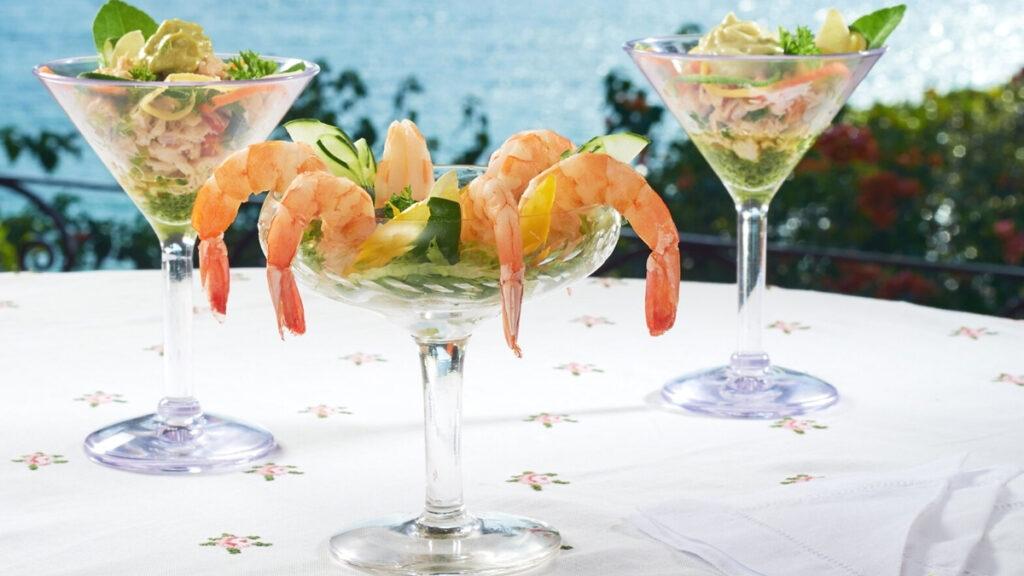 Shrimp cocktail in Jamaica