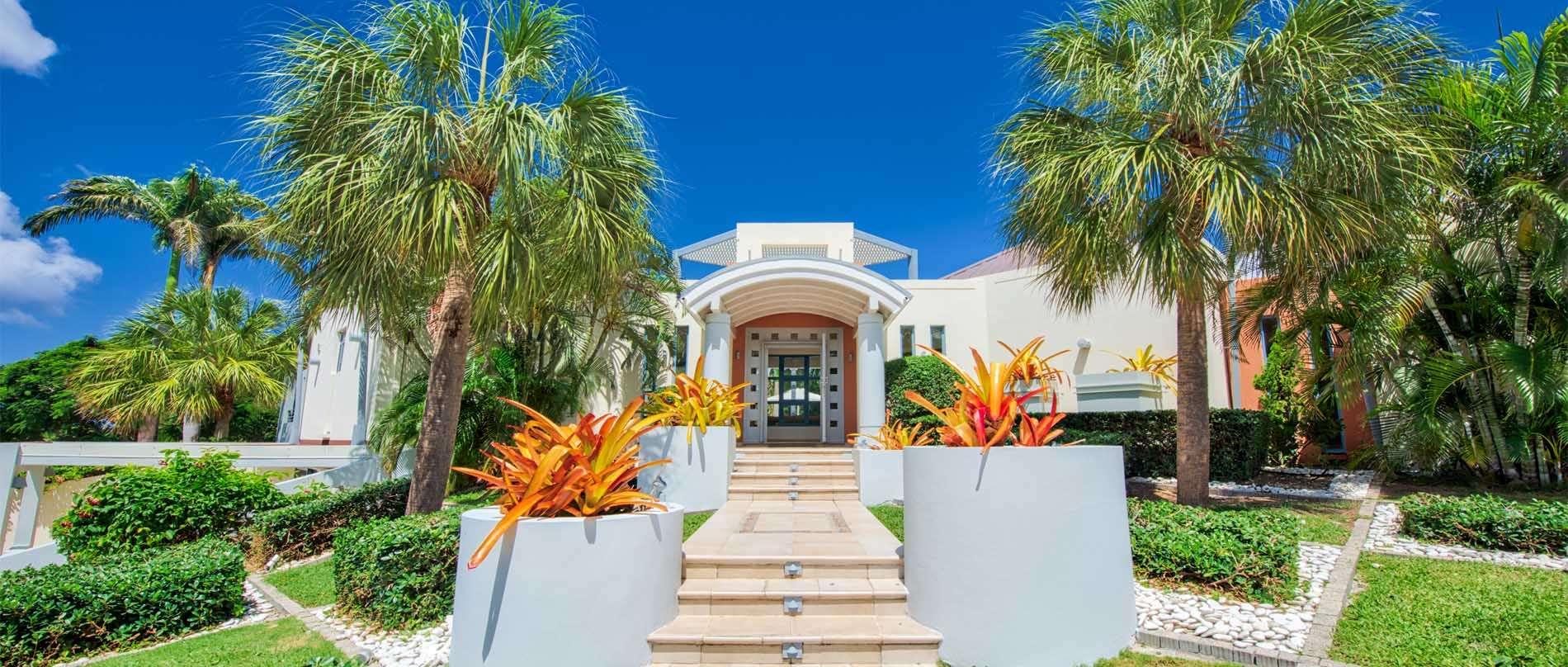 Luxury villa rentals caribbean - St martin - Saint martin french - Les terres basses - Villa Les Palmiers Bleus - Image 1/29