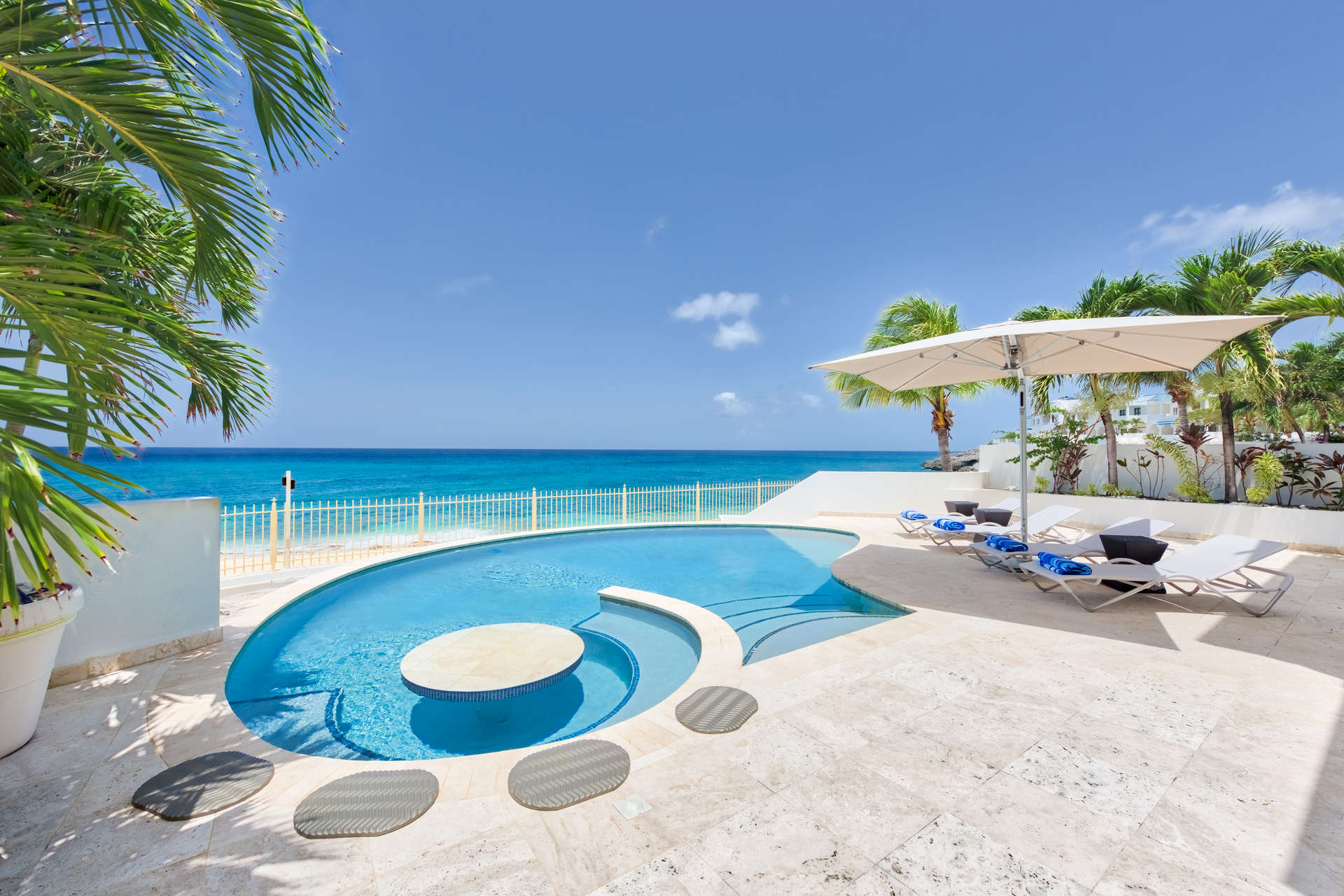 Luxury villa rentals caribbean - St martin - Sint maarten - Cupecoy - Bahari - Image 1/23
