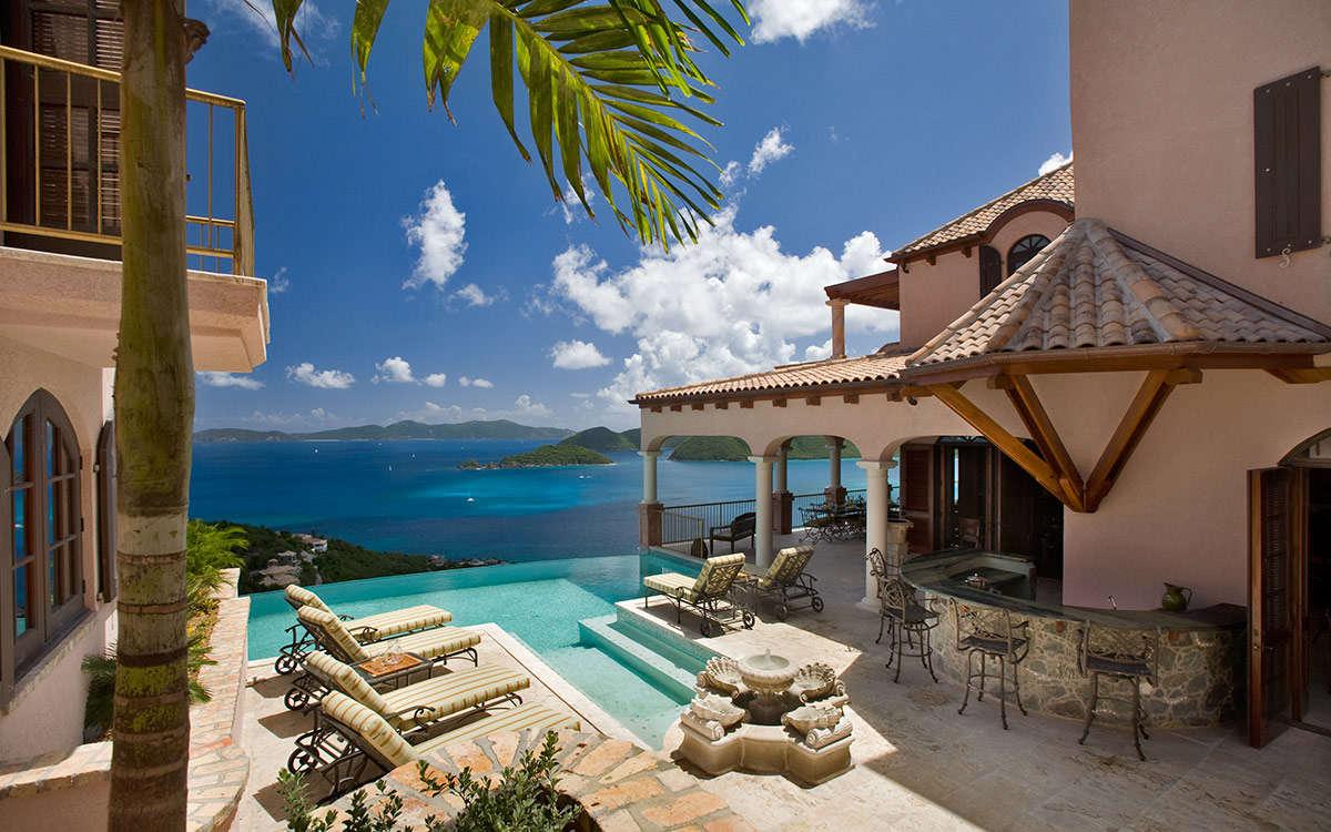 Luxury villa rentals caribbean - Usvi - St john - Peter bay - Carlota - Image 1/11