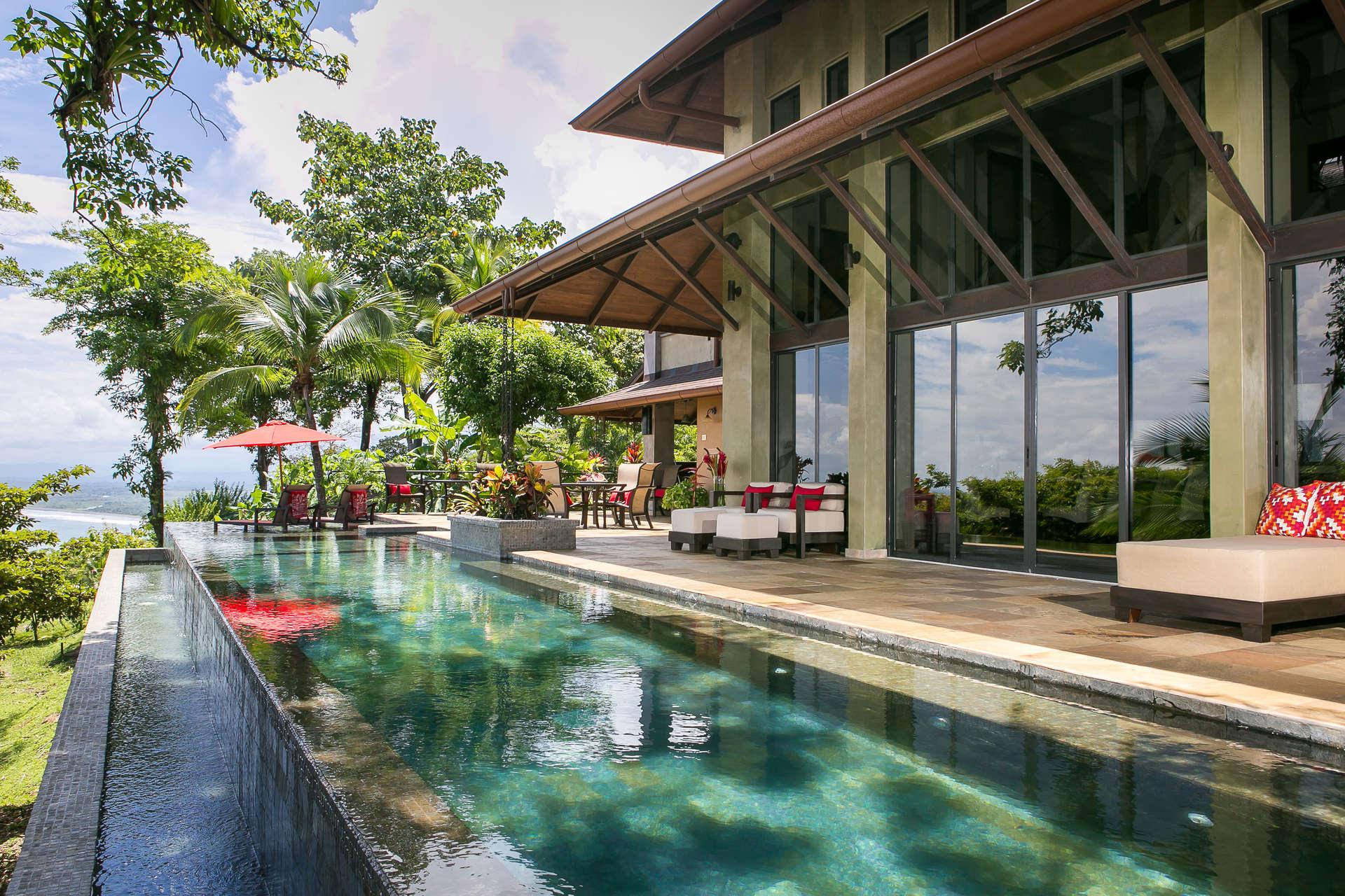 Central america villa rentals - Costa rica - Puntarenas - Manuel antonio - Paraiso Villa - Image 1/18