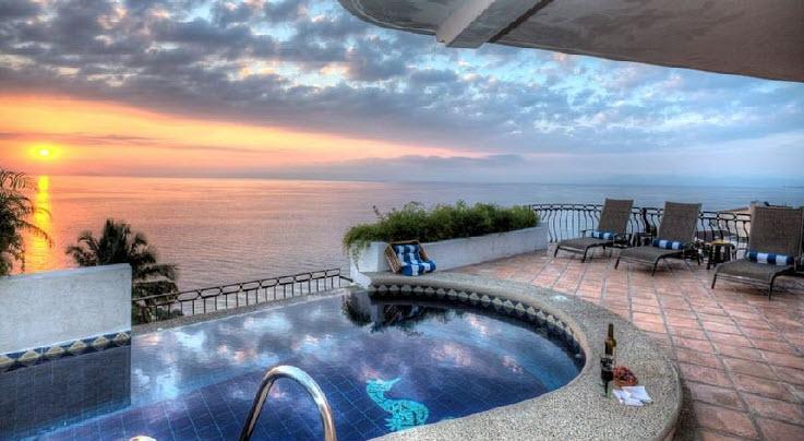 Luxury vacation rentals mexico - Puerto vallarta - Conchas chinas - No location 4 - Villa Marbella - Image 1/12
