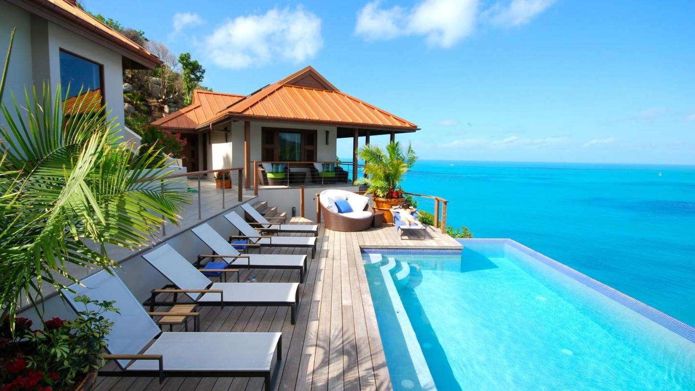 Luxury villa rentals caribbean - British virgin islands - Tortola - Trunk bay - Villa Aja - Image 1/12