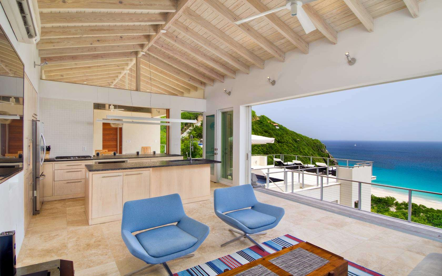 Luxury villa rentals caribbean - British virgin islands - Tortola - Trunk bay - Villa Lune - Image 1/11