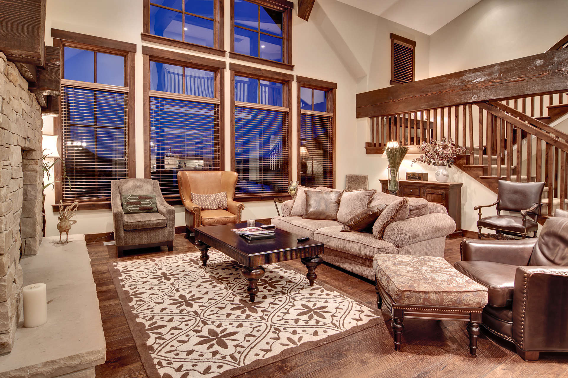 Luxury vacation rentals usa - Utah - Park city silver star - Silver Star 6 Bedroom Spa - Image 1/9