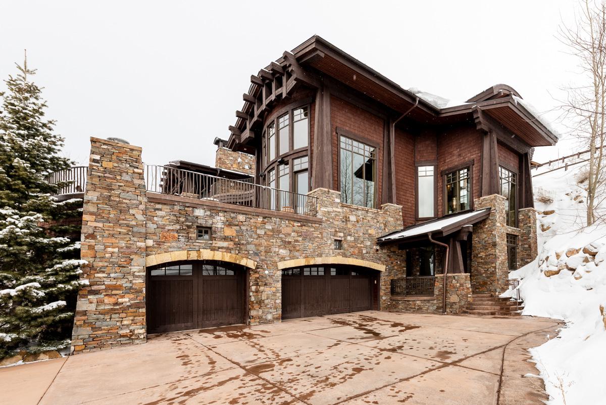 Luxury vacation rentals usa - Utah - Deer valleyresort - Deer crest homes - King's Estate - Image 1/29