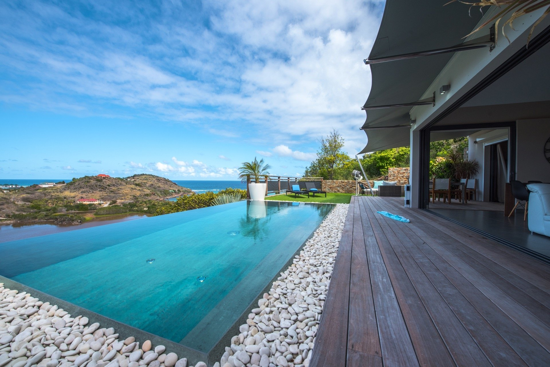 Luxury villa rentals caribbean - St barthelemy - Petit culdesac - No location 4 - Open Space - Image 1/27