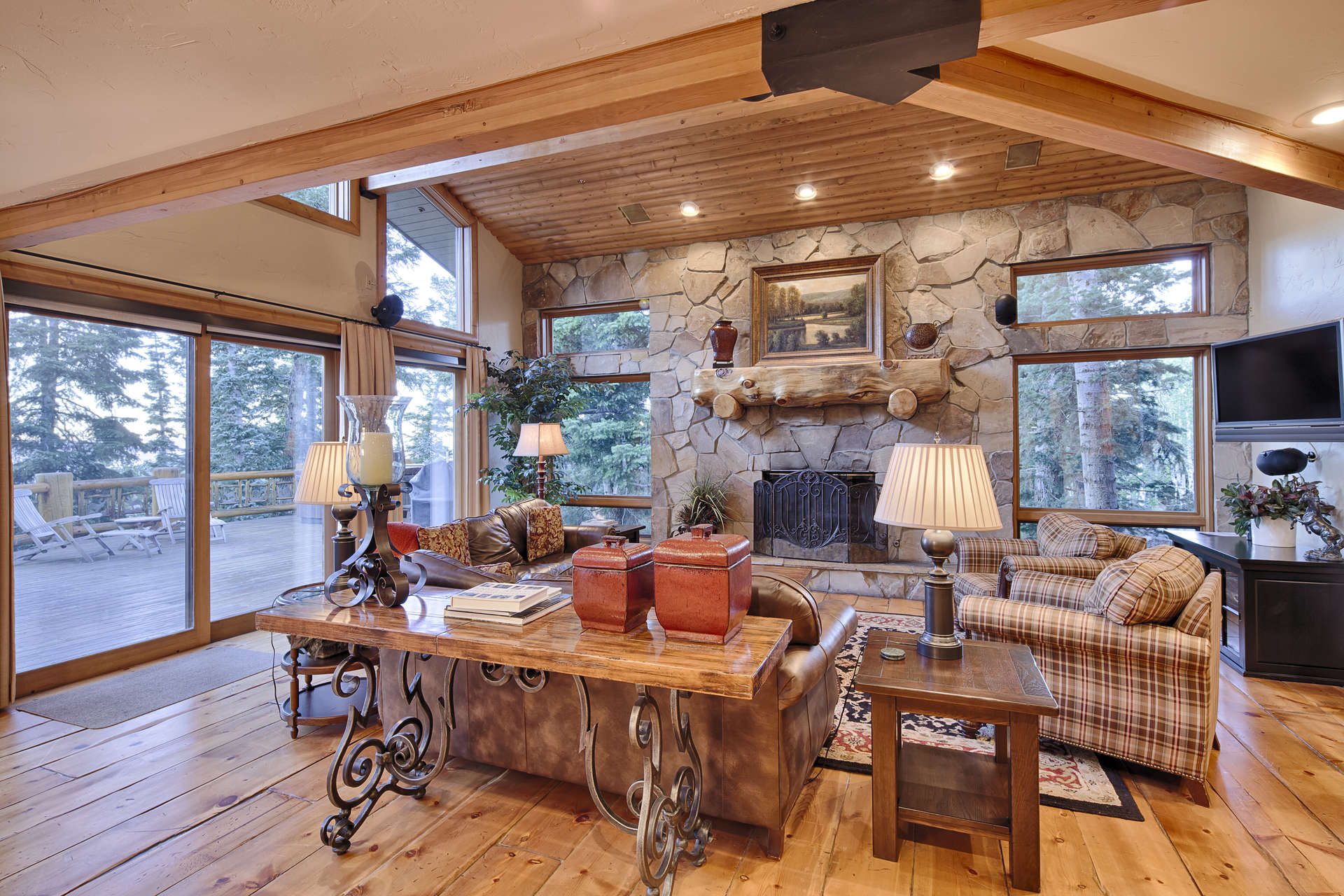 Luxury vacation rentals usa - Utah - Deer valley silver lake - The Laughing Ranch - Image 1/12